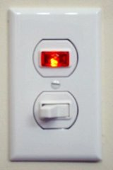 Switch with pilot light